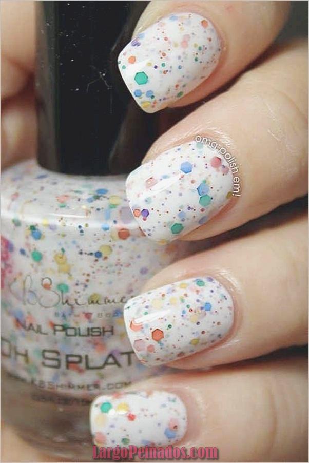 Ideas rápidas de arte de uñas para mujeres de oficina (7)