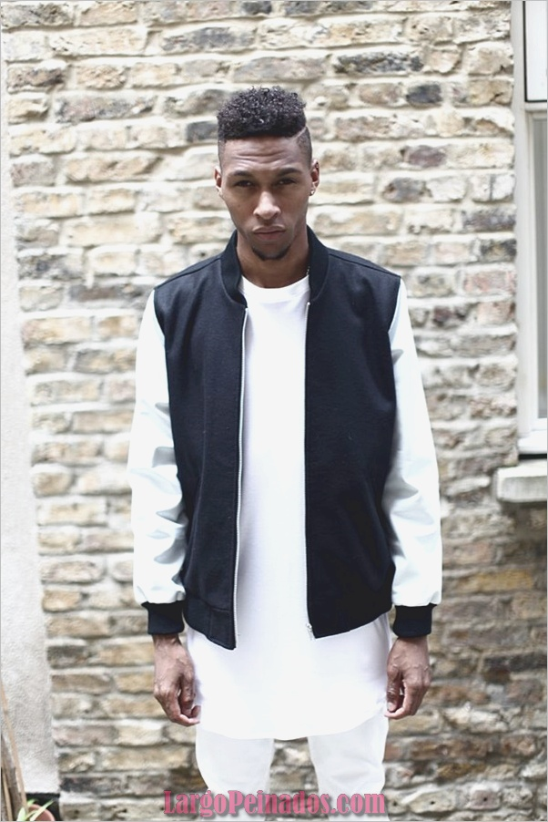 Últimos estilos de corte de pelo para hombres negros27