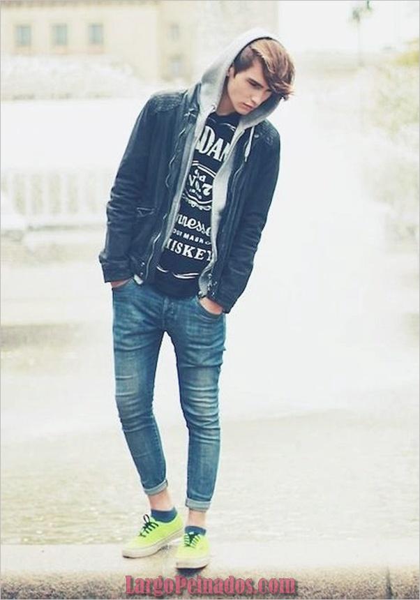 Trajes de estilo de moda para hombre18