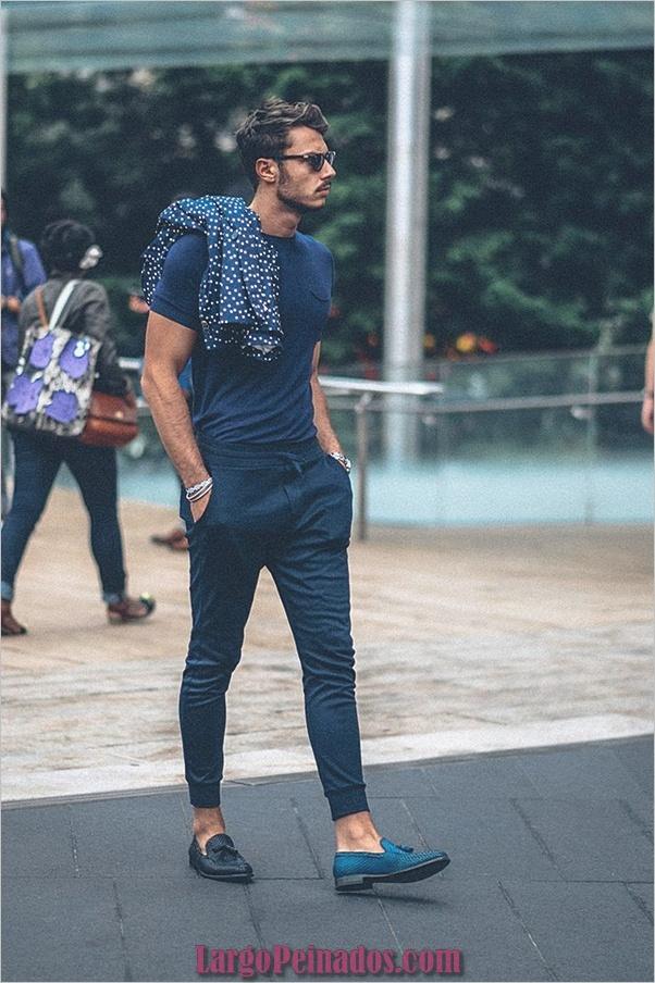 Trajes de estilo de moda para hombre45