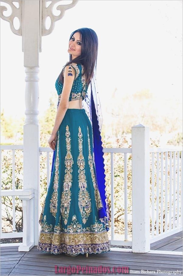 Vestidos y trajes indios elegantes34