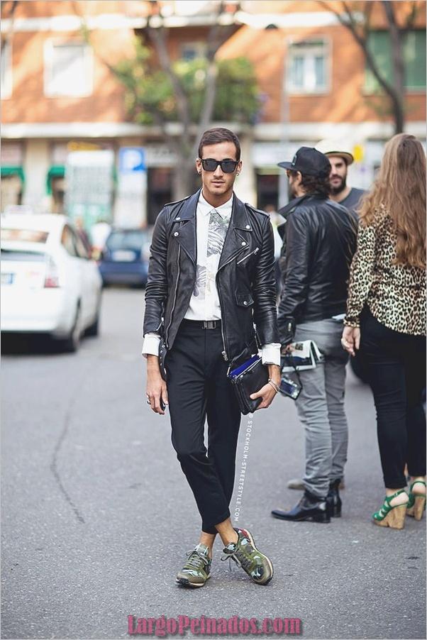 Trajes de estilo de moda para hombre9
