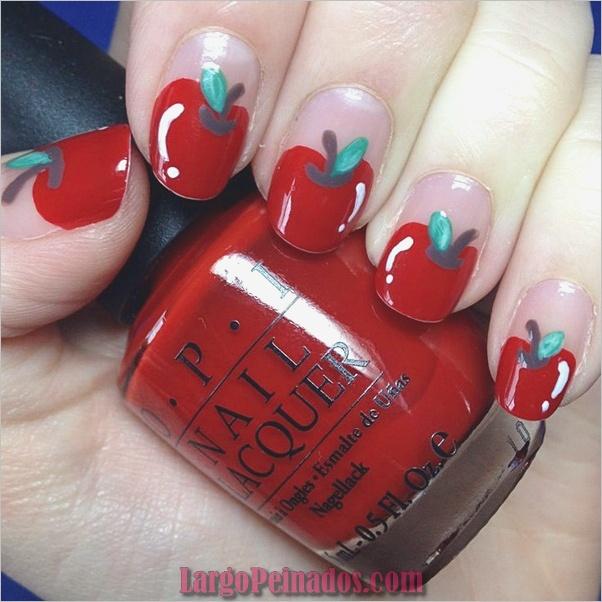 Diseños de arte de uñas rojas16