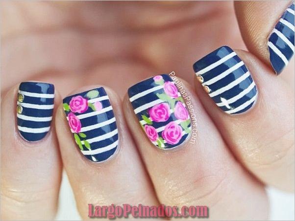 Diseños de arte de uñas fáciles para principiantes10