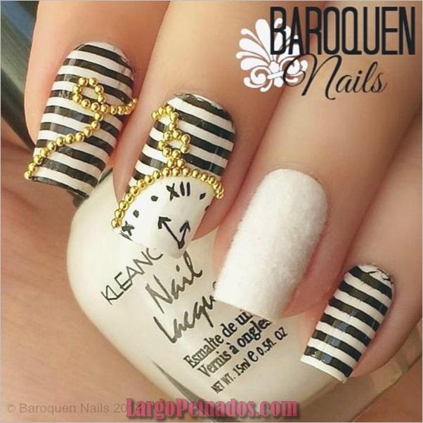 Ideas y diseños de uñas de año nuevo (2)
