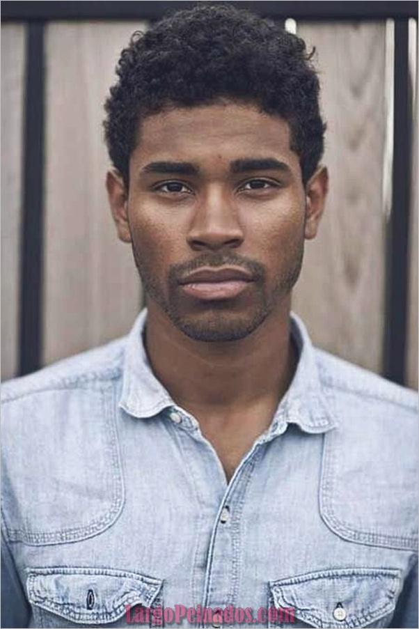 Los últimos estilos de corte de pelo para hombres negros25
