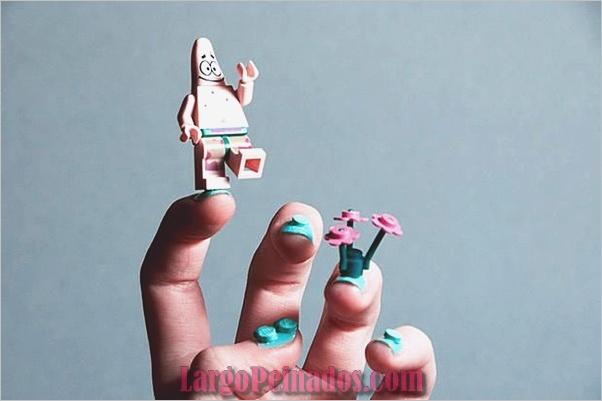 Imágenes creativas de arte de uñas en 3D (1)