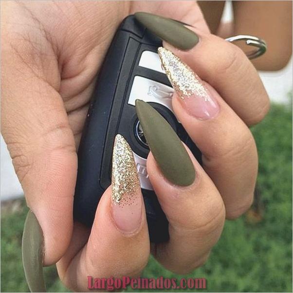 Ideas y diseños de uñas de aguja fáciles (16)