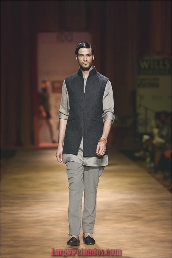 Vestidos y trajes indios elegantes8