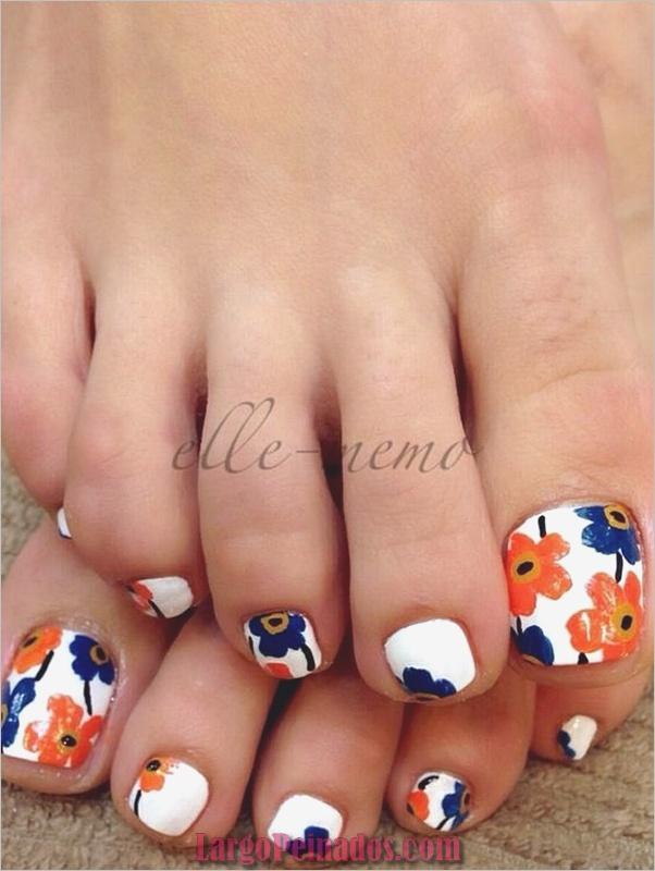Diseños de uñas para los pies (4)