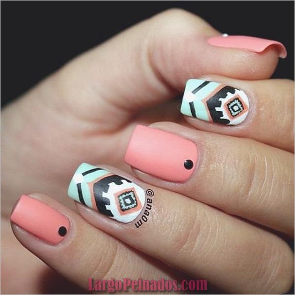 Diferentes diseños e ideas de esmalte de uñas (16)
