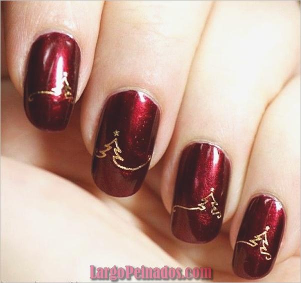 Diseños de arte de uñas de Navidad e Ideas6