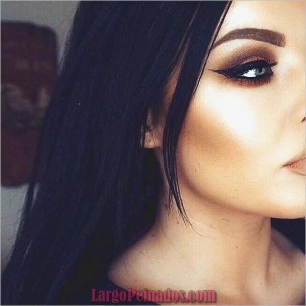 Ojos de maquillaje con capucha-y-tutorial-11
