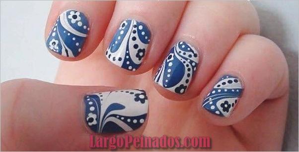 Diseños de arte simples para uñas cortas (33)