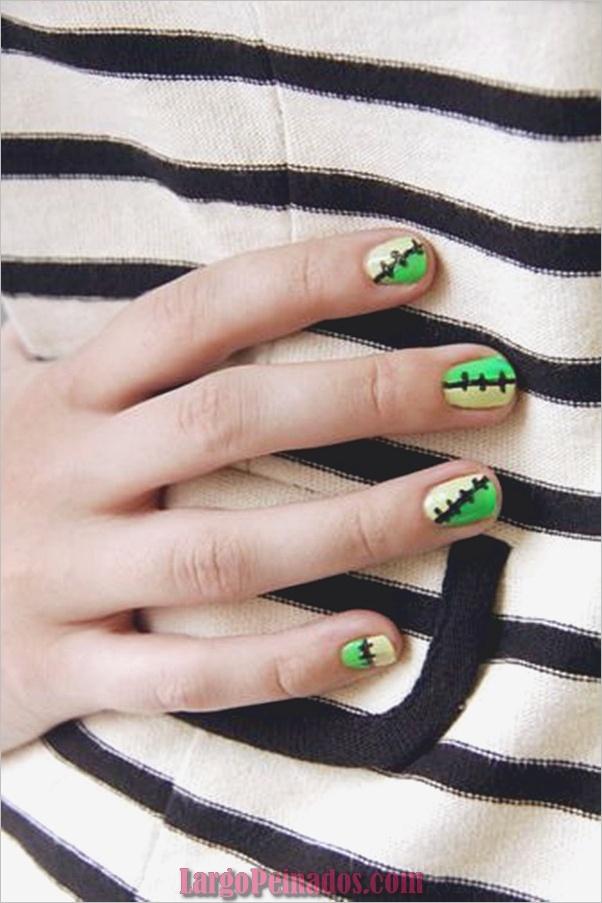 Ideas y diseños de arte de uñas de Halloween (12)