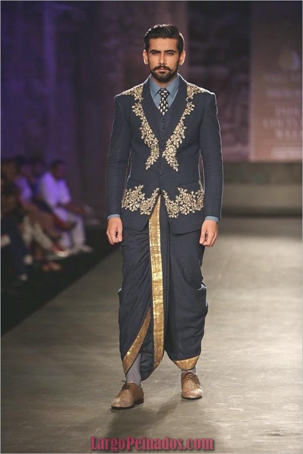 Elegantes vestidos y trajes indios25.1