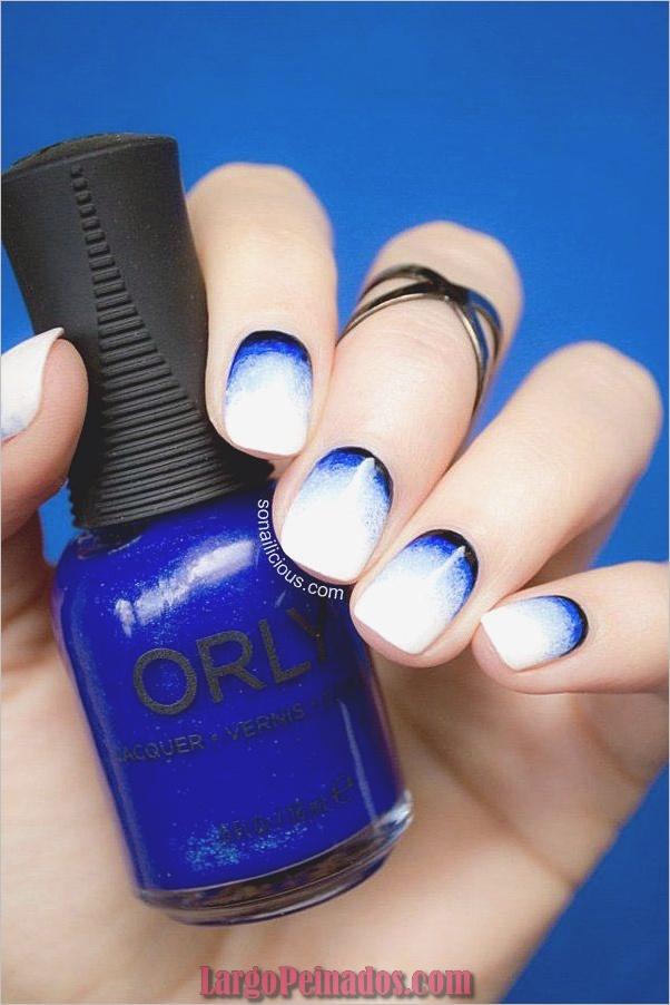 Diseños de arte de uñas blancas (14)