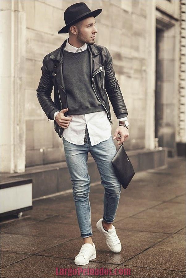 Trajes de estilo de moda para hombre7