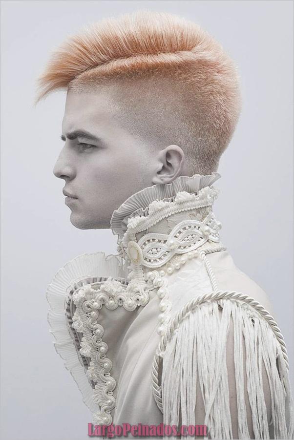 Nuevos peinados punk para hombres en 2019 (13)