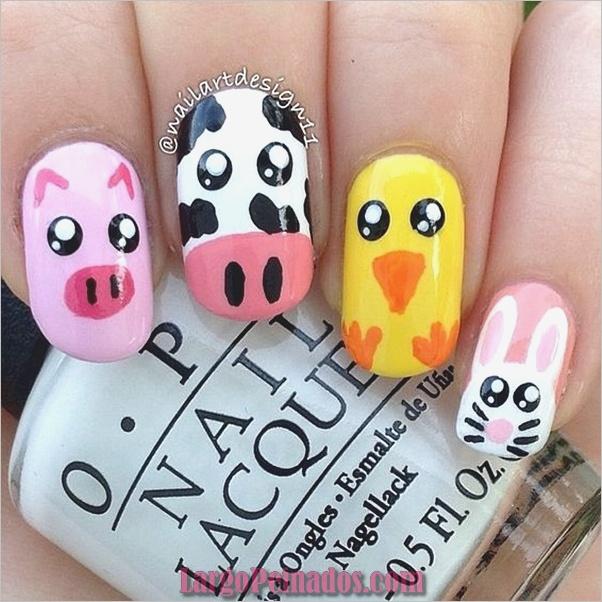 Estampados de animales para uñas (40)
