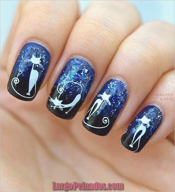 Ideas y diseños de arte de uñas de Halloween (14)