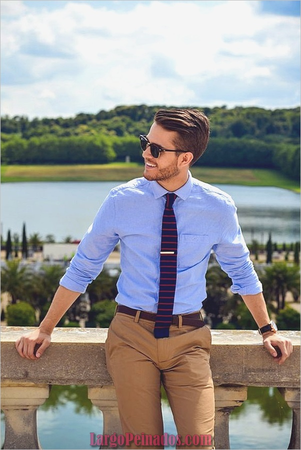 Casual de negocios para hombres (1)