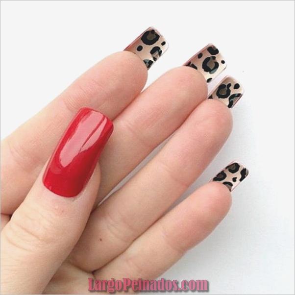 Estampados De Leopardo Del Arte De Uñas (12)