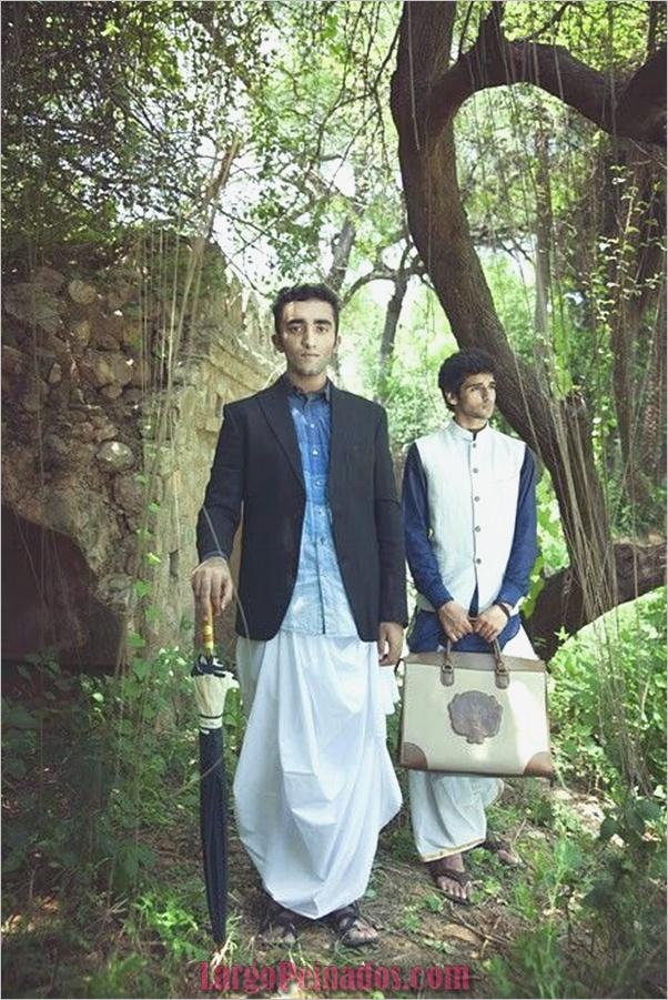 Elegantes vestidos y trajes indios35.1