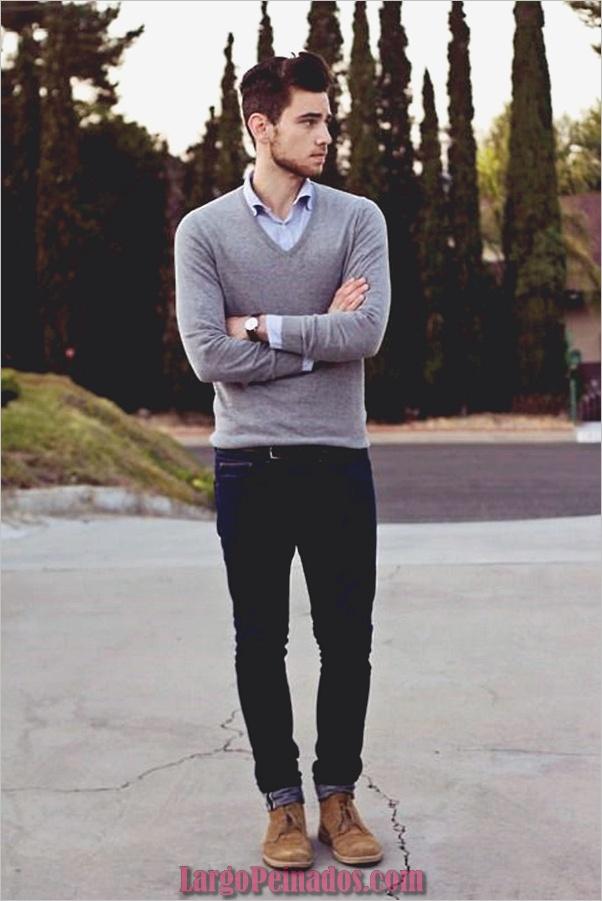 Trajes de moda de invierno para hombres en 2019 (19)