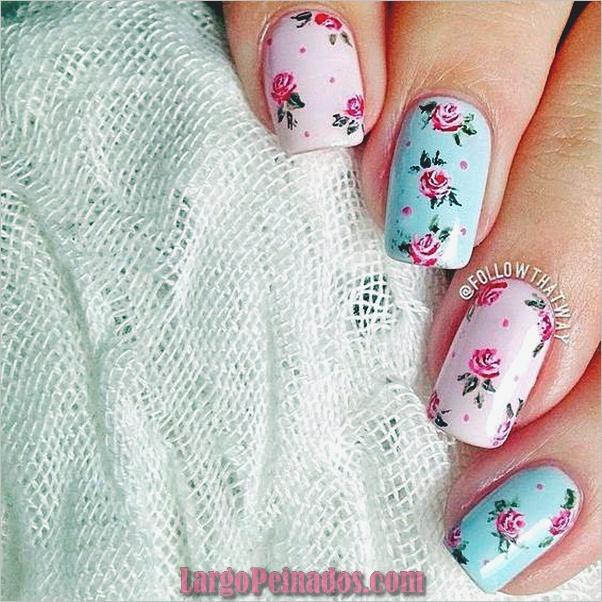 Diseños de Uñas Pastel (2)