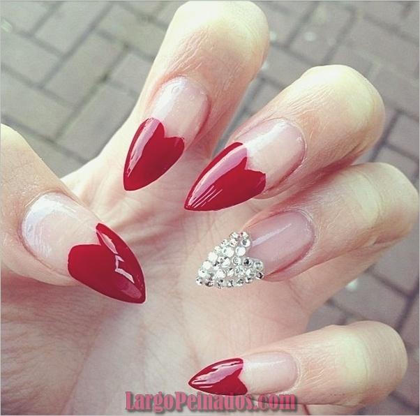 Nail Art Designs3 rojo