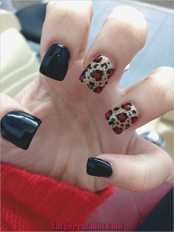 Estampados De Leopardo Del Arte De Uñas (26)