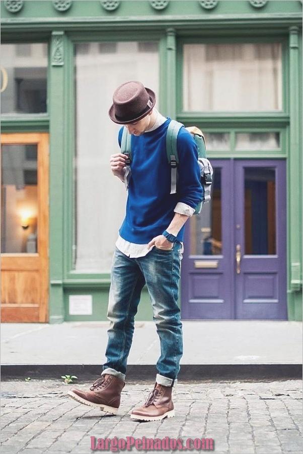 Trajes de estilo de moda para hombre25