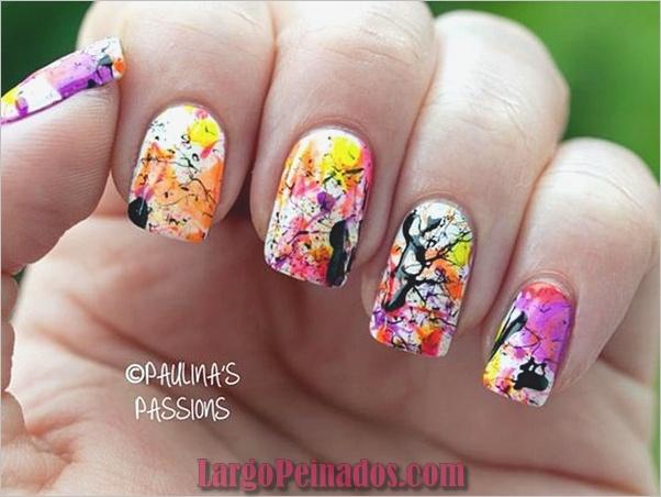 Diseños y Colores de Arte de Uñas de Verano (4)