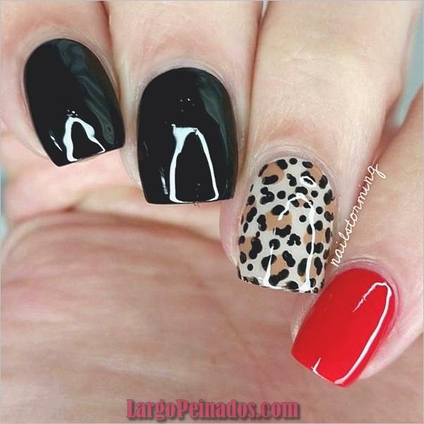 Estampados De Leopardo Del Arte De Uñas (25)