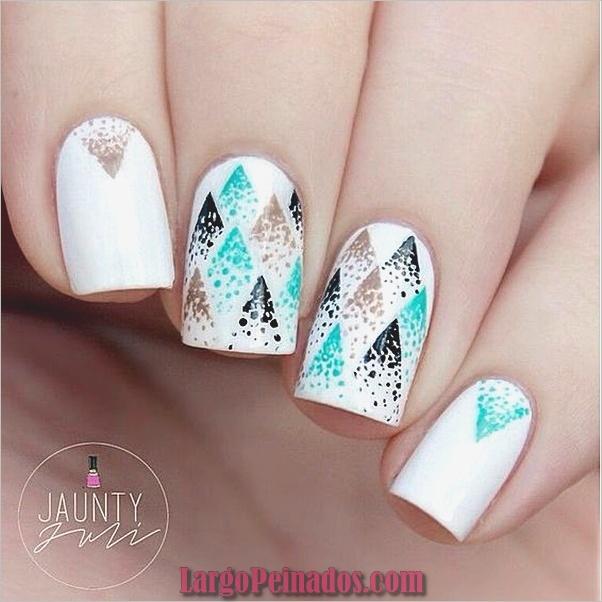 Ideas y diseños fáciles de esmalte de uñas (10)