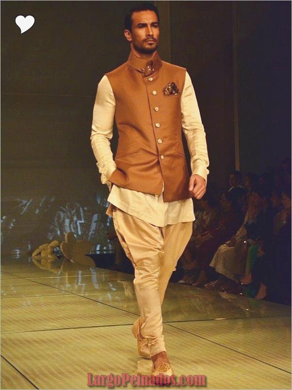 Vestidos y trajes indios elegantes6