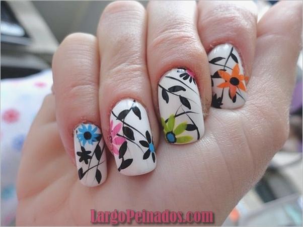 Diseños de arte de uñas fáciles para principiantes10.1