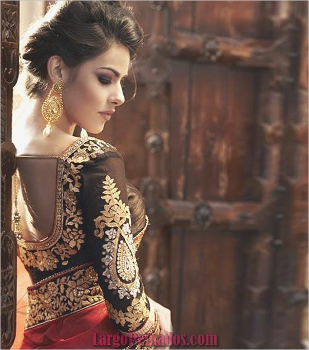 Vestidos y trajes indios elegantes28