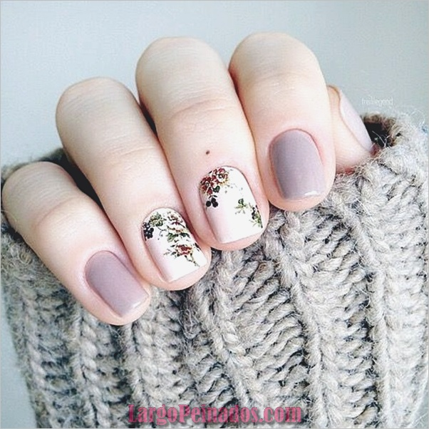 Diferentes diseños e ideas de esmalte de uñas (22)