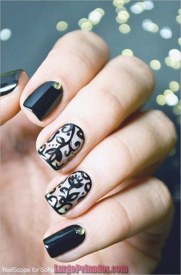 Diferentes diseños e ideas de esmalte de uñas (13)