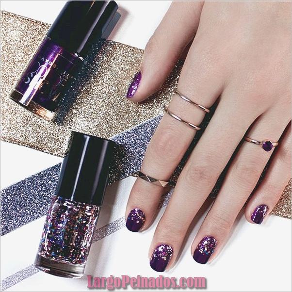 Diseños de uñas de invierno 2019 (4)
