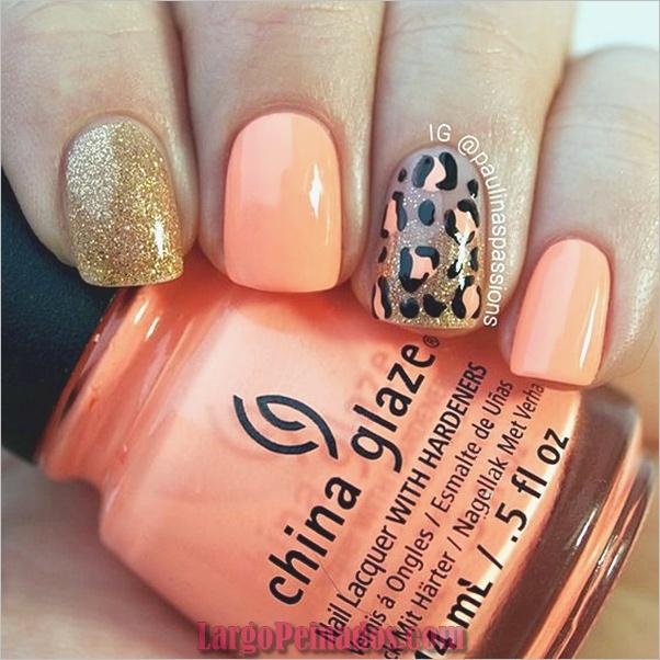 Estampados De Leopardo Del Arte De Uñas (19)