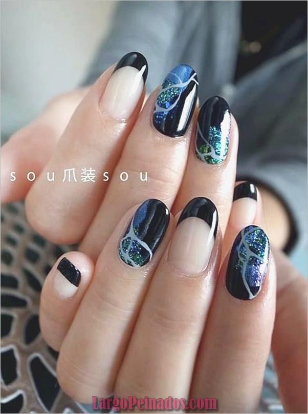 Diseños de arte de uñas de mármol (12)