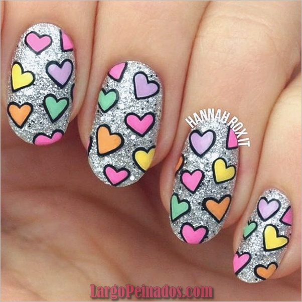 San Valentín-semana-uñas-diseños-17