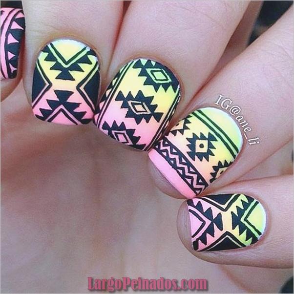hermosa-tribal-uñas-art-4