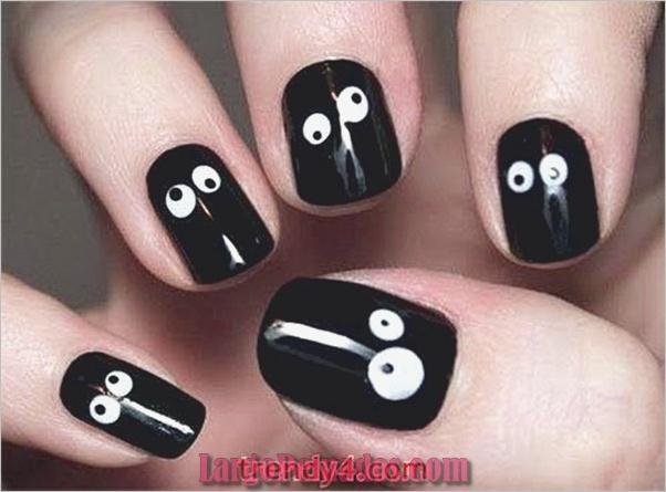 Ideas y diseños de arte de uñas de Halloween (4)