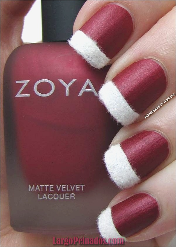 Diseños de arte de uñas rojas15