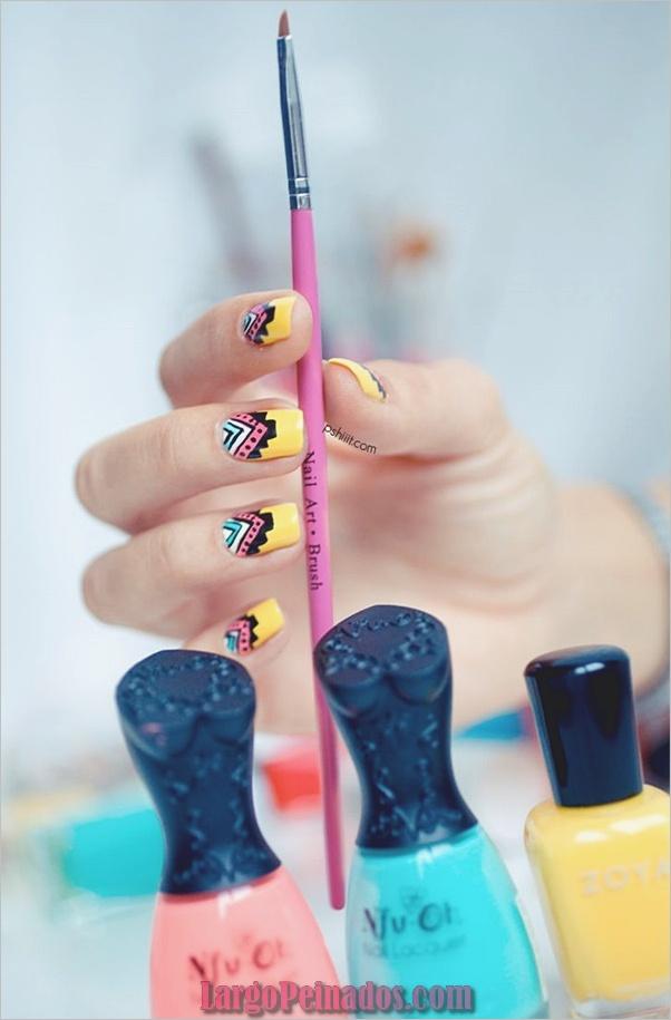Ideas rápidas de arte de uñas para mujeres de oficina (4)