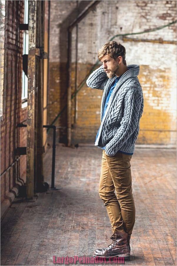 Trajes de moda de invierno para hombres en 2019 (23)